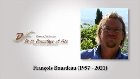François Bourdeau (1957 -  2021)