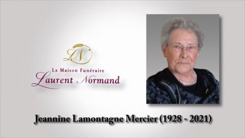 Jeannine Lamontagne Mercier (1928 - 2021)