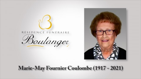 Marie-May Fournier Coulombe (1917 - 2021)