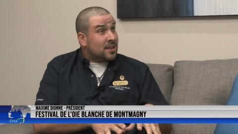 Entrevue - Maxime Dionne, président du Festival de l'oie blanche - 6 octobre 2021