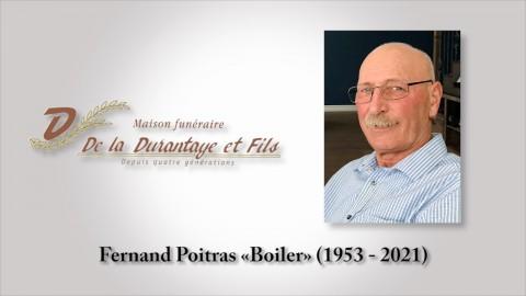Fernand Poitras «Boiler» (1953 - 2021)