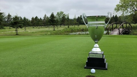 Le Club de golf Saint-Pacôme au premier rang de la 1ere ronde de la Coupe Desjardins