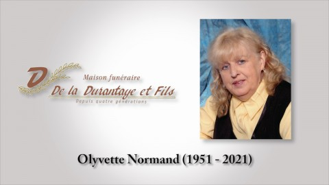 Olyvette Normand (1951 - 2021)