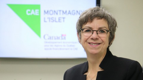 Mireille Thibault devient directrice générale du CAE