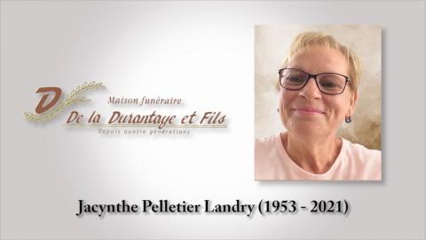 Jacynthe Pelletier Landry (1953 - 2021)