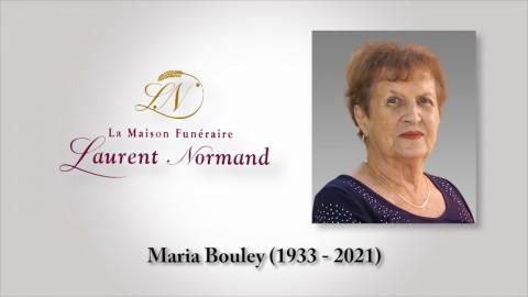 Maria Bouley (1933 - 2021)