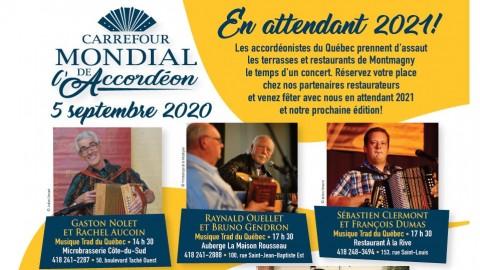 Le Carrefour mondial de l'accordéon présente: En attendant 2021!