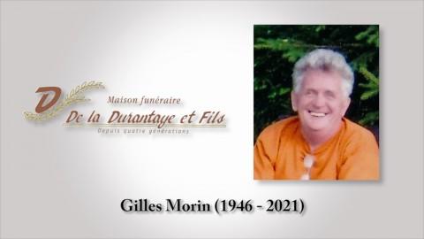 Gilles Morin (1946 - 2021)
