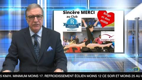 Bonjour Côte-du-Sud - Mercredi 20 janvier 2021