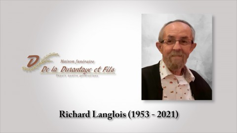 Richard Langlois (1953 - 2021)