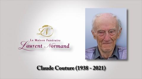 Claude Couture (1938 - 2021)