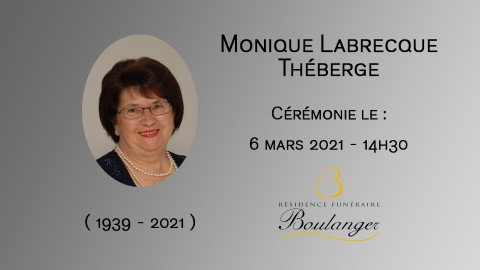 Monique Labrecque Théberge