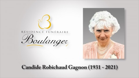 Candide Robichaud Gagnon (1931 - 2021)