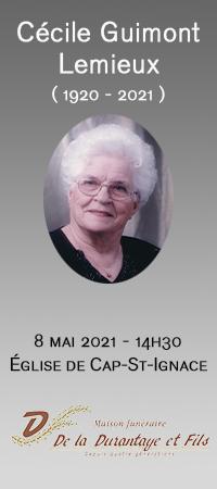 Cécile Guimont Lemieux