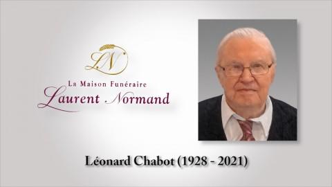 Léonard Chabot (1928 - 2021)
