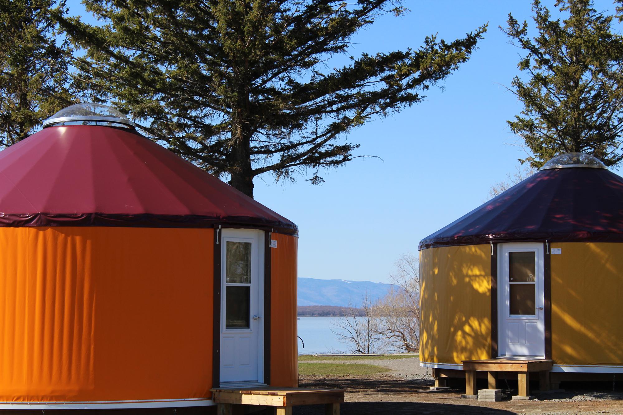 Eclairage Salle De Bain Sans Electricite ~ trois nouvelles yourtes disponibles d s cet t au camping pointe