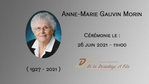 Anne-Marie Gauvin Morin