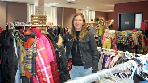 De nouveaux locaux pour la Friperie Ecokat avec un grand atelier de couture