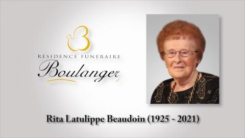 Rita Latulippe Beaudoin (1925 - 2021)