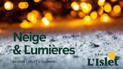 Un mouvement lumineux dans Région L'Islet pour égayer la saison hivernale!