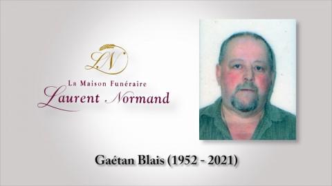 Gaétan Blais (1952 - 2021)