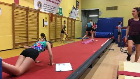 Un retour à l'entraînement différent pour les athlètes de Magny-Gym