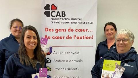 Le Centre d'action bénévole des MRC de Montmagny et de L'Islet ajoute des cordes à son arc et se renouvelle