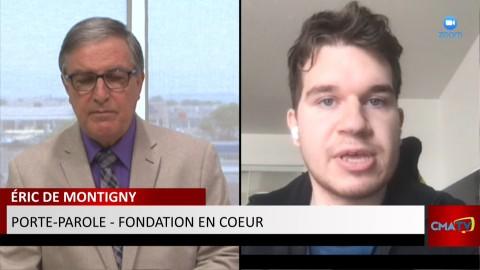Entrevue - Éric de Montigny - Ambassadeur de la Fondation en coeur - 11 juin 2021