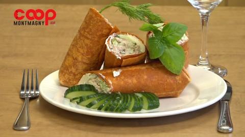 Chronique culinaire Magasin Coop IGA - Wrap à la salade de thon - 4 mars 2021