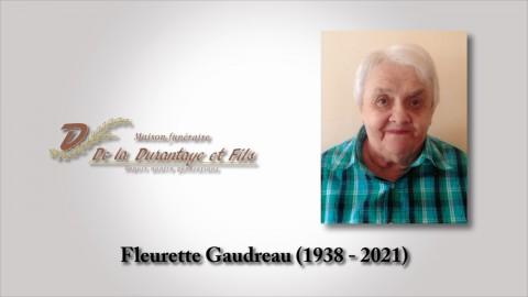 Fleurette Gaudreau (1938 - 2021)