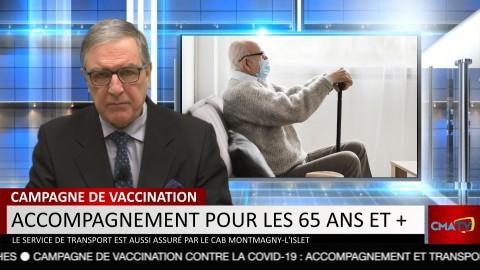 Bonjour Côte-du-Sud - Vendredi 12 mars 2021