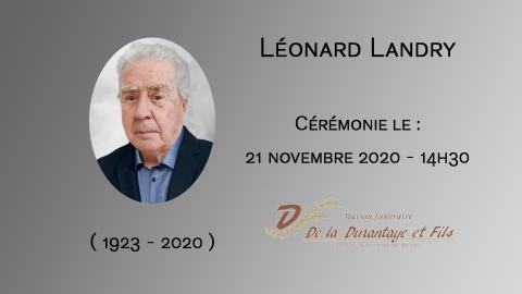 Léonard Landry