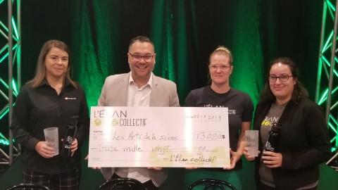 Les Arts de la scène prennent un virage vert grâce au soutien de L'Élan collectif!