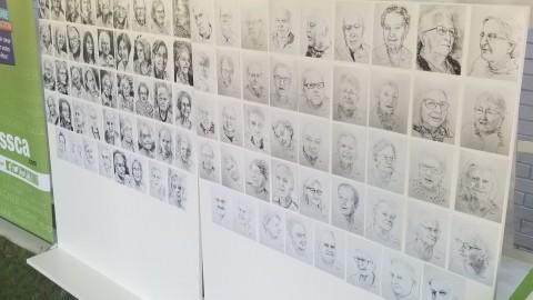 L'exposition «Les visages de notre histoire » est lancée dans les CHSLD de la MRC de L'Islet