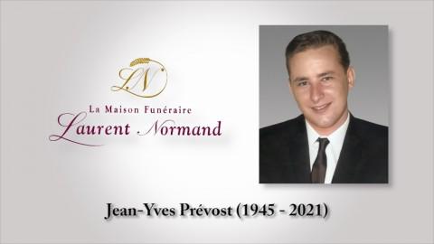 Jean-Yves Prévost (1945 - 2021)