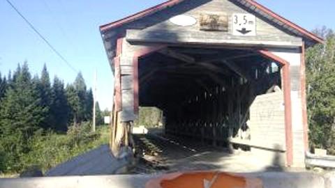 Pont couvert de Sainte-Lucie-de-Beauregard : En attente d'une réponse du ministère des Transports