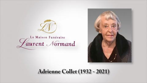 Adrienne Collet (1932 - 2021)