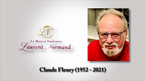 Claude Fleury (1952 - 2021)