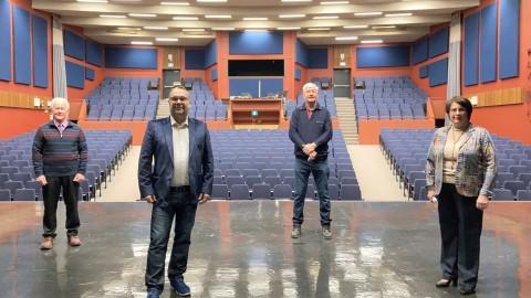 Les MRC de L'Islet et de Montmagny sont unanimement en faveur du projet de mise aux normes et d'agrandissement de la salle Edwin-Bélanger
