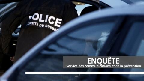 Perquisition de drogue dans une résidence de la route Martineau à La Pocatière