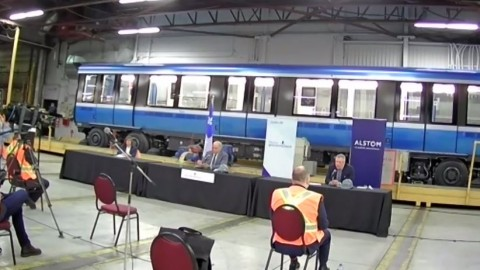 Québec annonce un soutien financier de 56 M$ pour assurer l'avenir de l'usine d'Alstom à La Pocatière