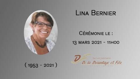 Lina Bernier