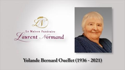 Yolande Bernard Ouellet (1936 - 2021)