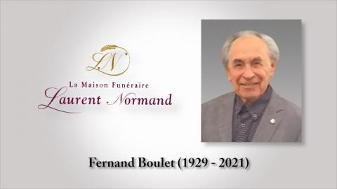 Fernand Boulet (1929 - 2021)