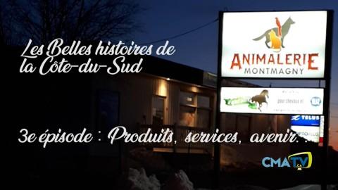 Les Belles histoires - Animalerie Montmagny épisode 3 - 4 février 2019
