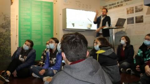 Des jeunes initiés à l'histoire et à l'archéologie de Montmagny