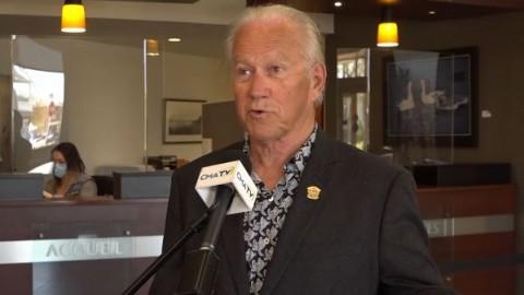 Bernard Boulet se réjouit de l'annonce du troisième lien par Québec