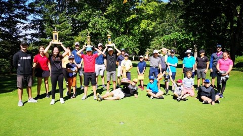 Un 5e championnat consécutif au golf pour Alexandre Morin