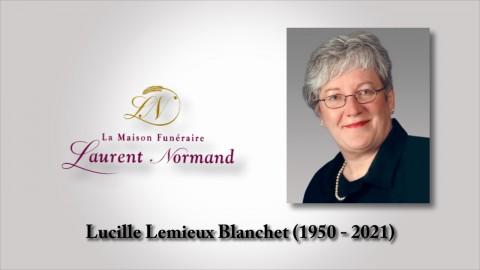 Lucille Lemieux Blanchet (1950 - 2021)