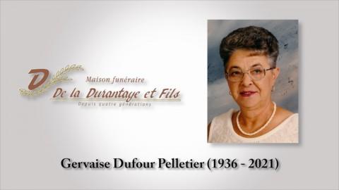 Gervaise Dufour Pelletier (1936 - 2021)